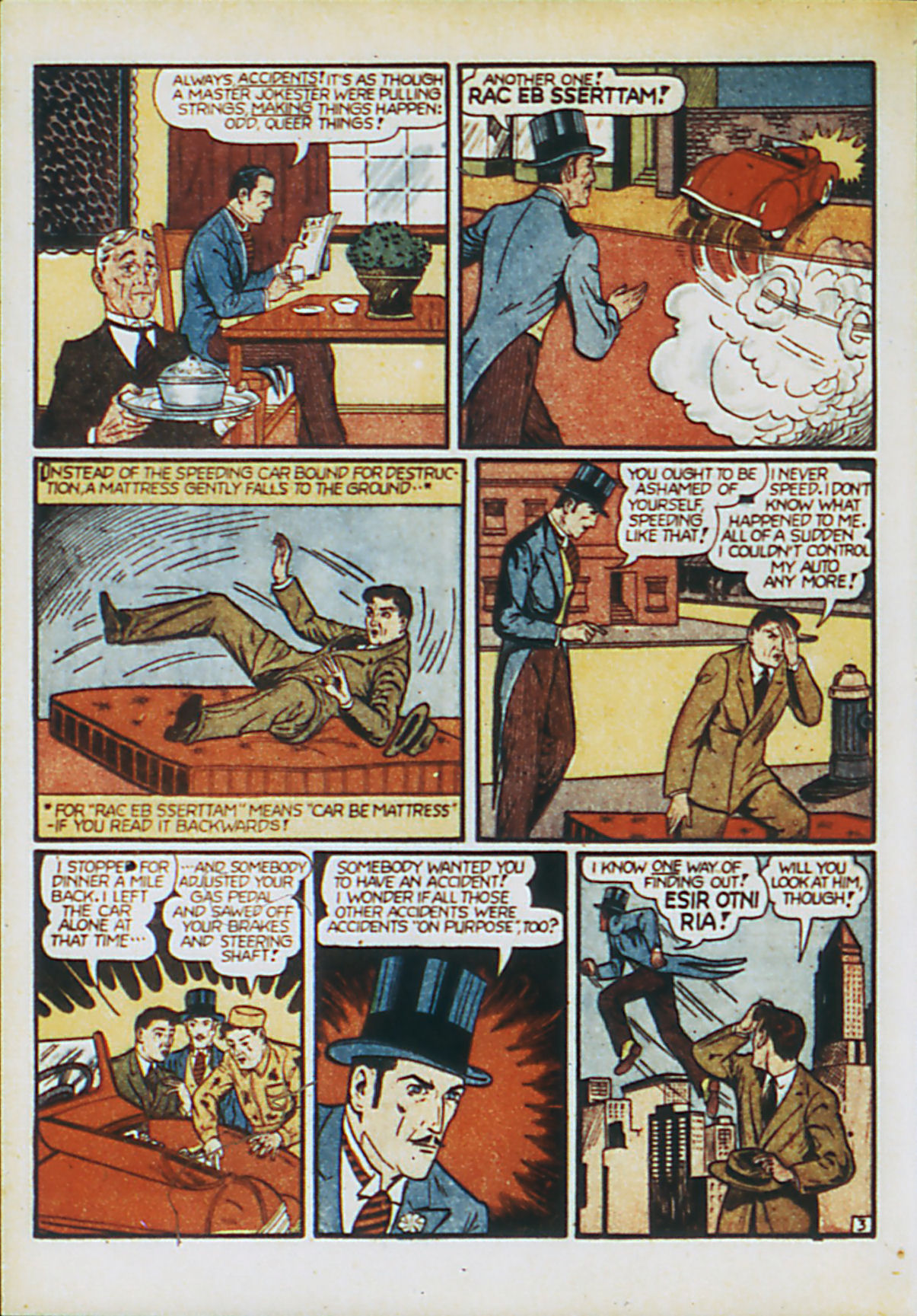 Read online Action Comics (1938) comic -  Issue #55 - 60