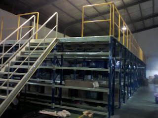 mezanine rack