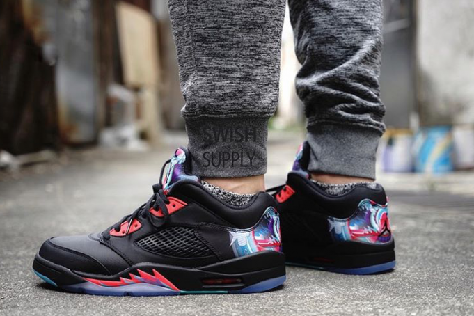 new arrival 00e40 f2d82 Here is an on foot look at the Air Jordan Retro V Low
