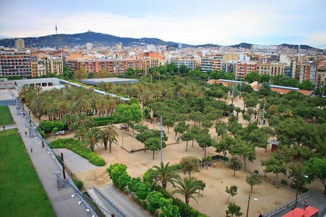 Parque Joan Miró em Barcelona