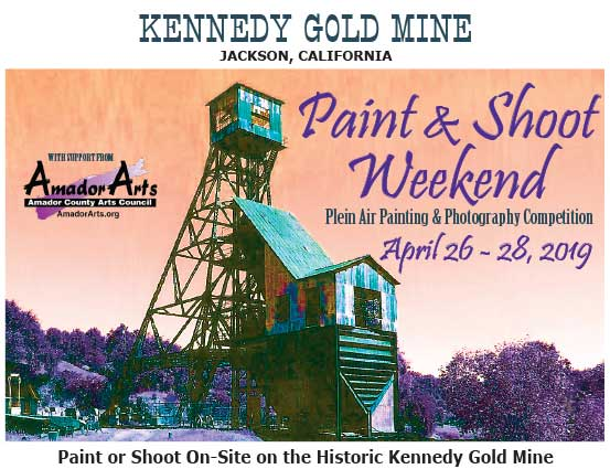 - Paint & Shoot Weekend Plein Air & Photography Competition at the Kennedy Mine - April 26-28
