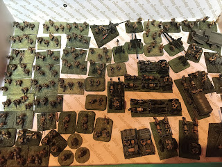 Old 15mm Soviet figures before re-basing
