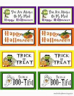 Halloween Tag Printable by Kims Kandy Kreations