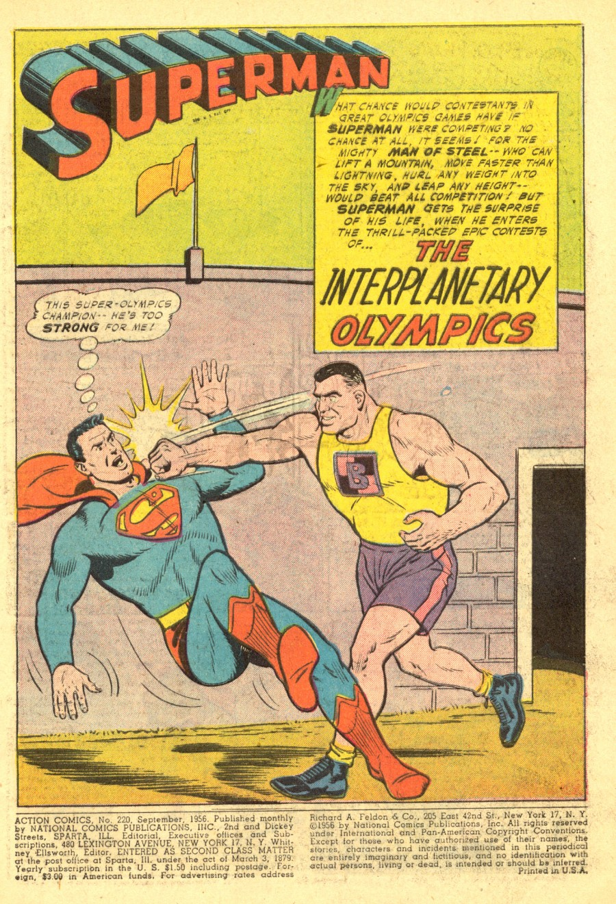 Action Comics (1938) 220 Page 2