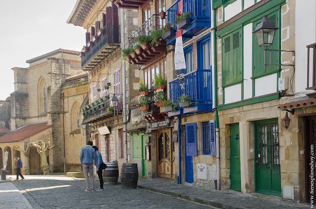 Hondarribia Fuenterrabia turismo Euskadi