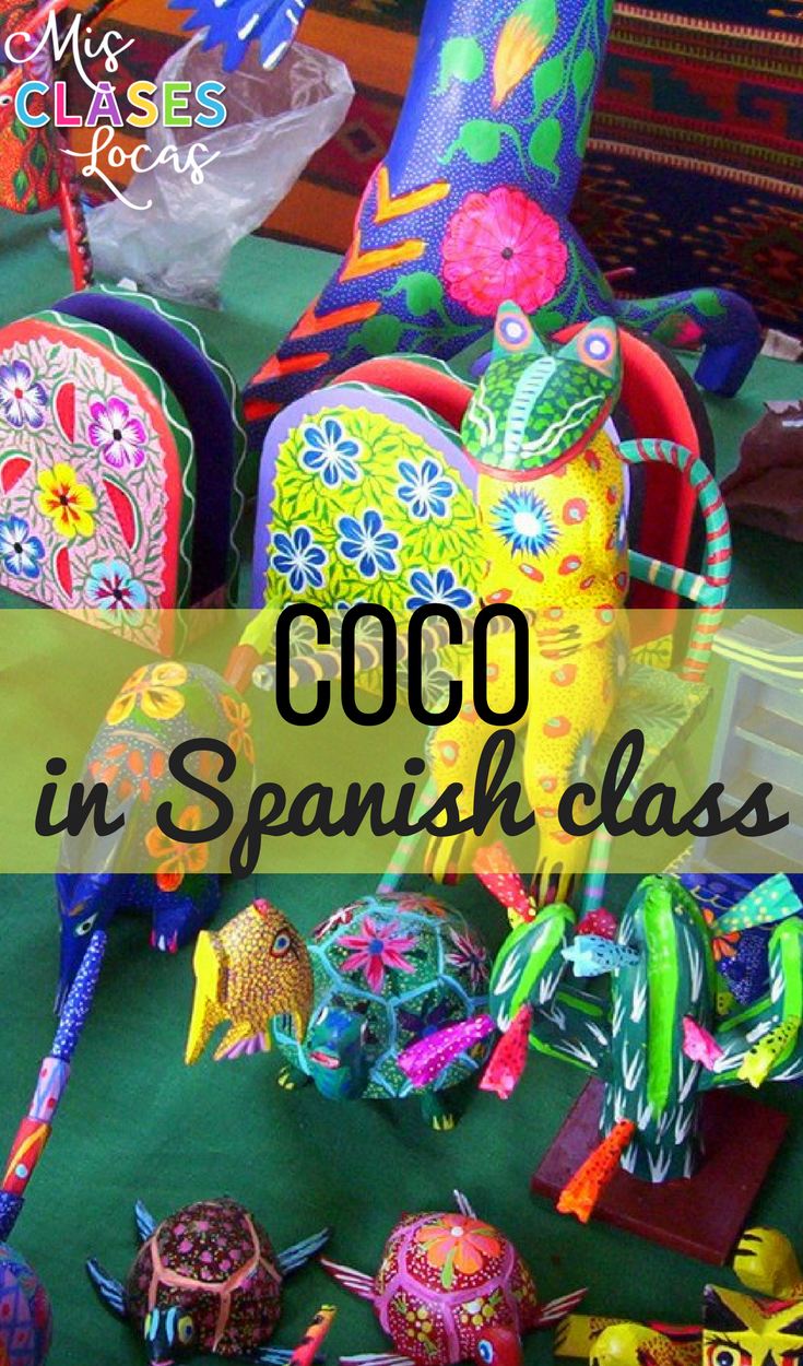 Coco in Spanish Class