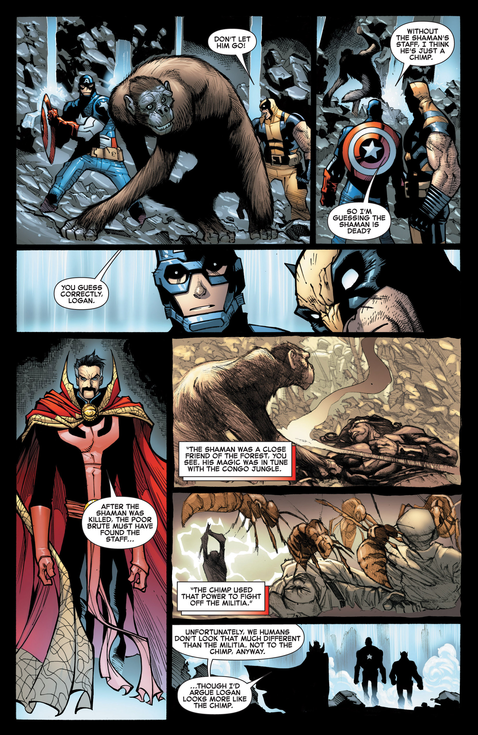Read online A X comic -  Issue #9 - 11