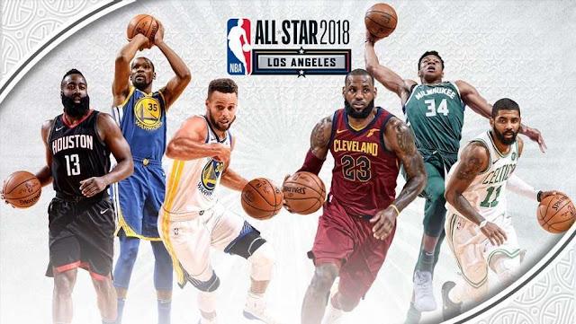 2018年NBAオールスターのスター...