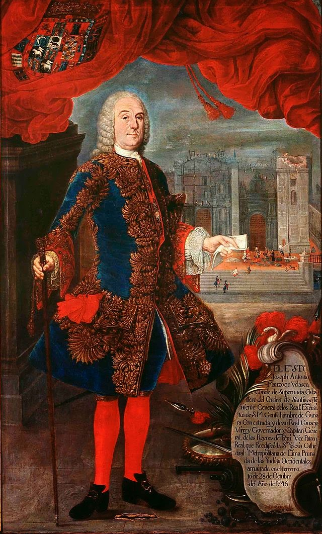 osé Antonio Manso de Velasco, Conde de Superunda