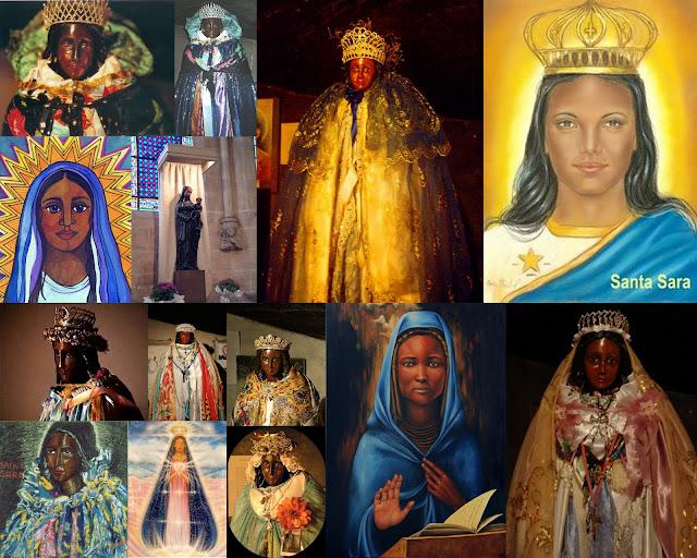 Sarah la Kali & Black Madonna Artwork