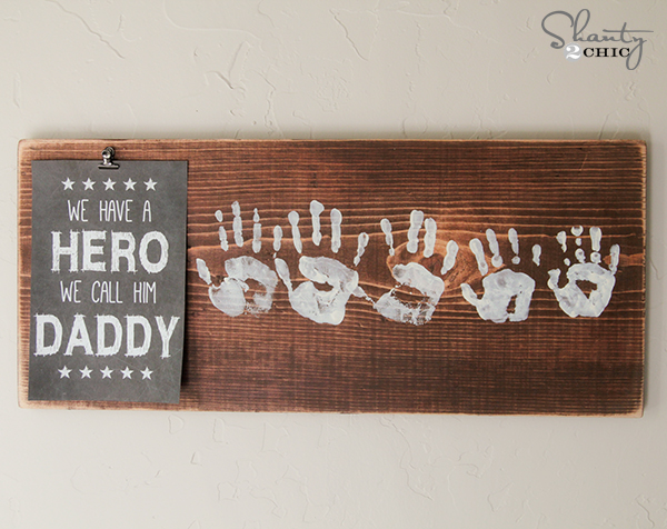 easy DIY fathers day gift ideas