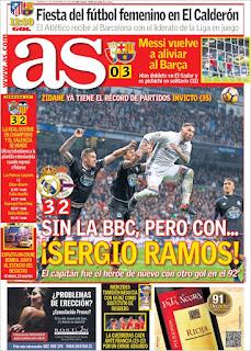portada As gol de Ramos 11 12 2016