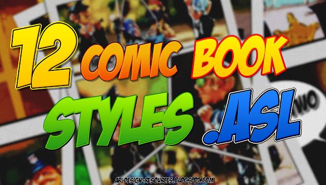 ADR_12 Comic Book Styles Thumbnail