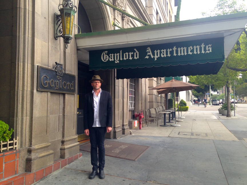 High Quality Spain Frontman Josh Haden At The Gaylord Apartments In Koreatown Nice Ideas