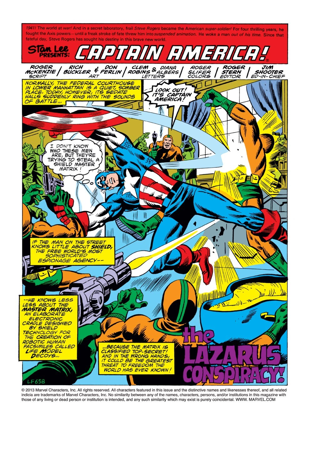 Captain America (1968) Issue #243 #158 - English 2