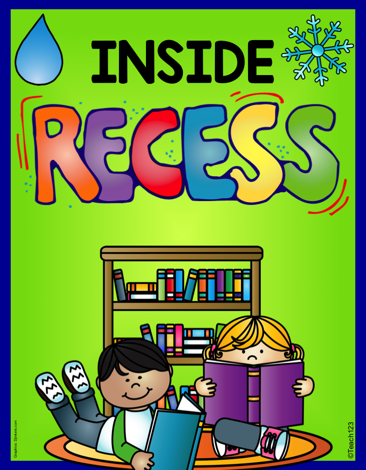 FREE Inside Recess activities and tips - Owl-ways Be Inspired
