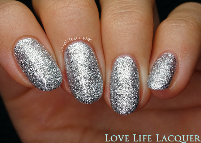 SmoothNails Silver Stiletto
