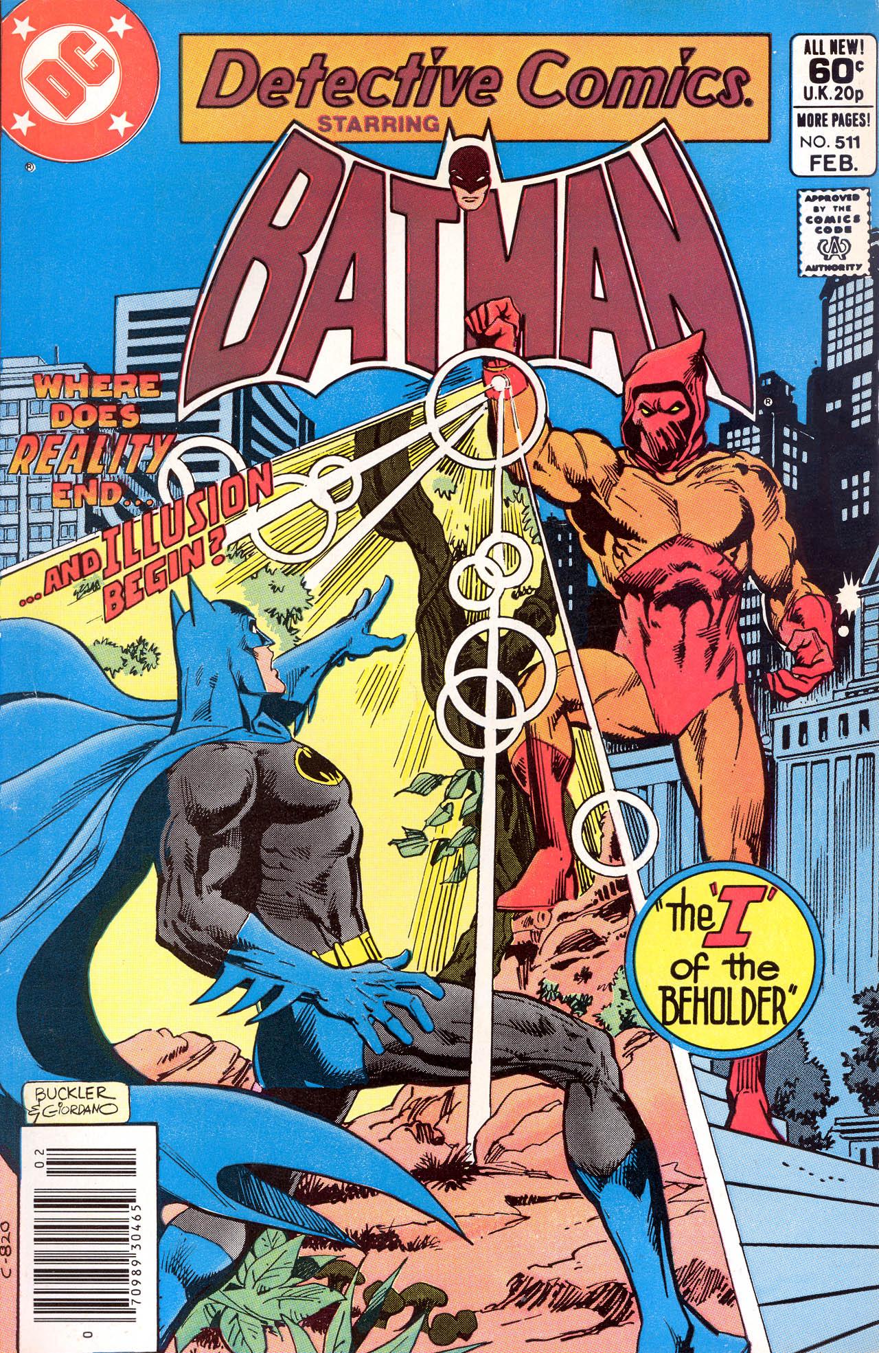 Detective Comics (1937) 511 Page 1