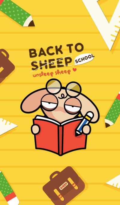 UNSLEEP SHEEP : Back to School