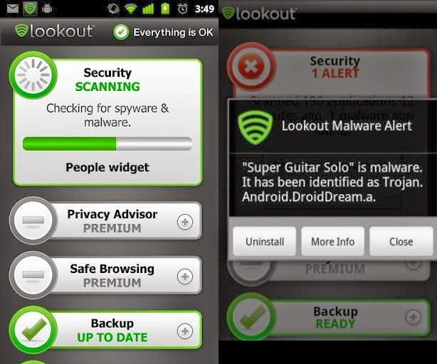 Lookout Security & Antivirus For Android | TechPlums