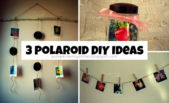 3 Polaroid DIY Ideas