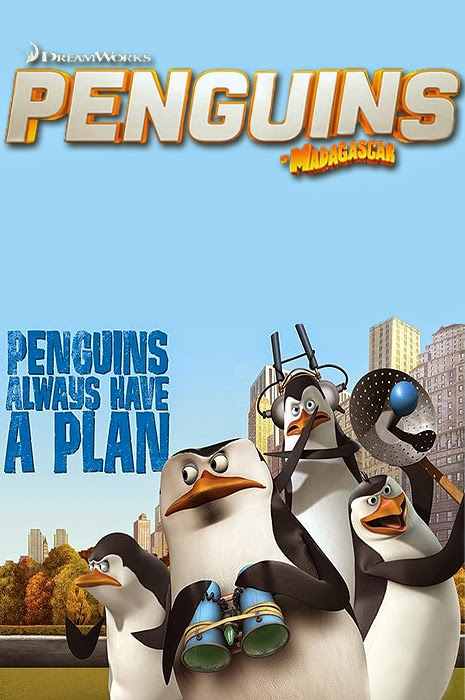 Skipper, Kowalski, Rico și Private în The Penguins Of Madagascar