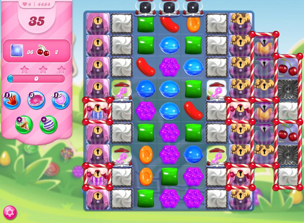 Candy Crush Saga level 4484