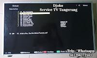 service tv sharp bsd serpong tangerang