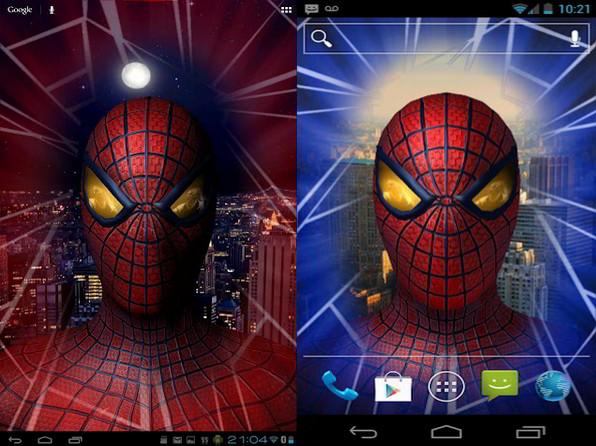 Amazing Spider-Man 3D Live Wallpaper para Dispositivos ...