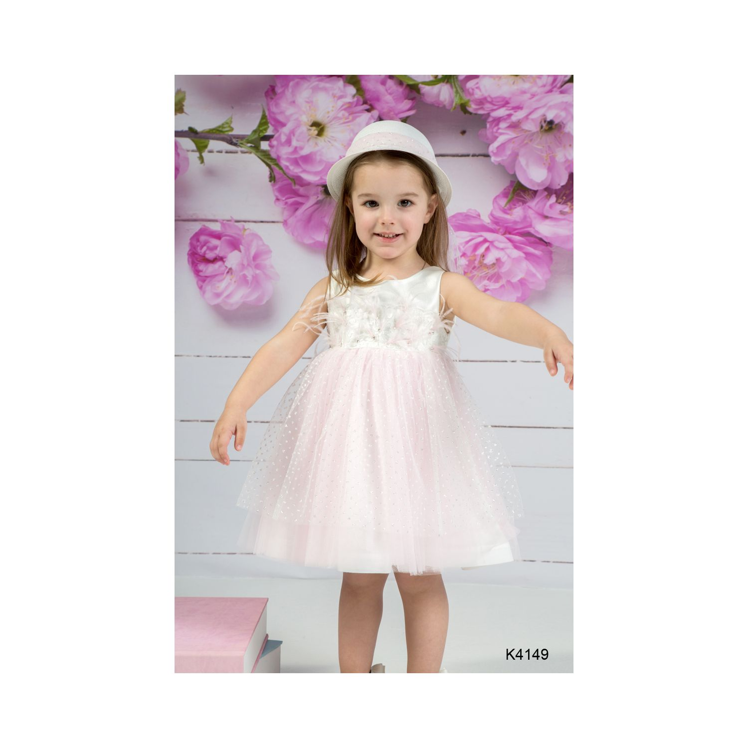 Baptism clothes for girl K4149