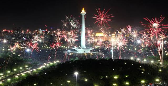 perayaan tahun baru di jakarta