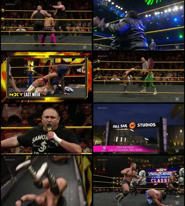 WWE NXT 05 Oct full TV Show