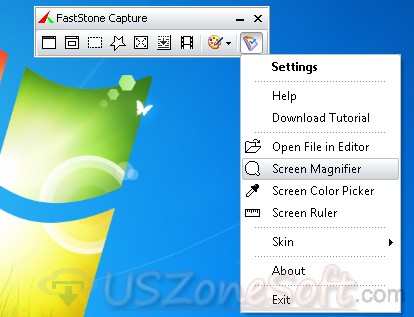 FastStone Capture-  powerful screenshot maker  and screen video recorder software
