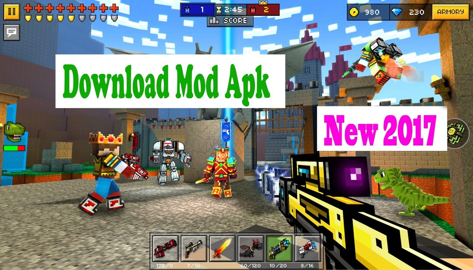 pixel gun pc free online