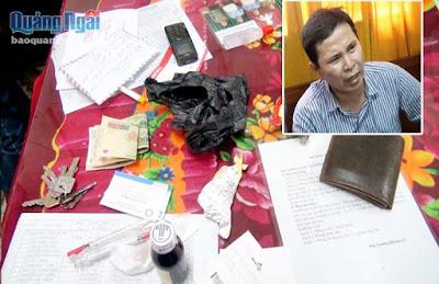 TP Quảng Ngãi Bắt vụ vận chuyển ma túy bằng tàu hỏa