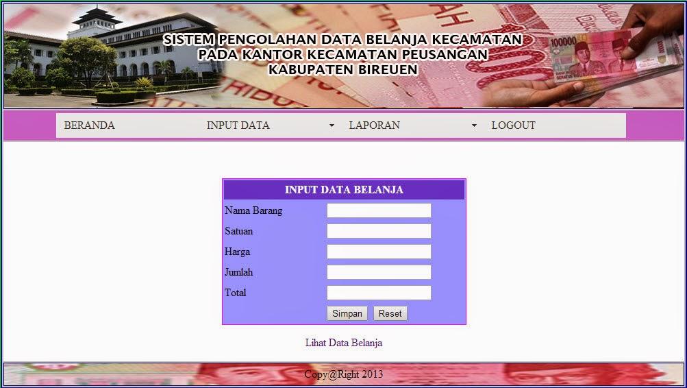Source Code Sistem Informasi Penjualan Dengan Php Dan Mysql Free