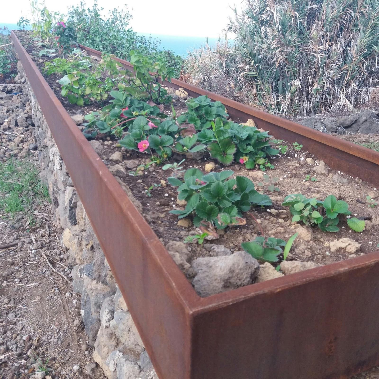 Acero inoxidable tenerife jardineras acero corten - Jardineras acero corten ...