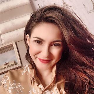 Alessia Cestaro pemeran Khumairoh di Muslimah ANTV
