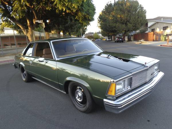 Daily Turismo: Turbocharged 5.3 V8: 1980 Chevrolet Malibu