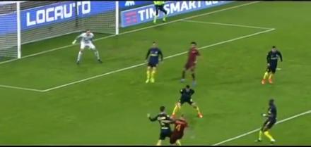INTER-ROMA 0-1 gol Nainggolan