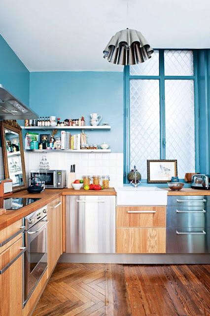 Fofura do Dia: luminária de cozinha é Forma de Empadão. Blog Achados de Decoração