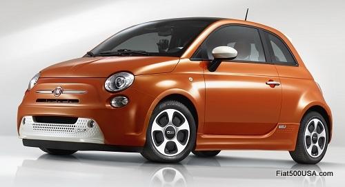 Fiat 500e Electric Car