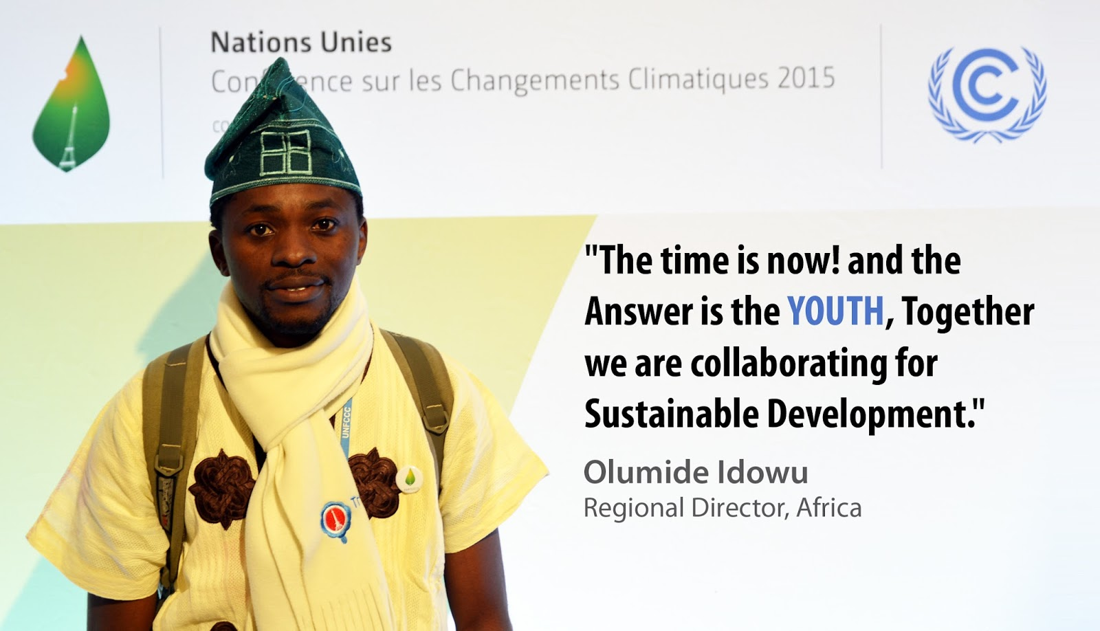 Olumide Idowu, IYF Regional Director for Africa