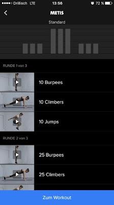Freeletics Workout Metis