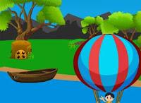Cute Boy Parachute Escape - Juegos de Escape