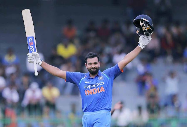 Rohit Sharma scored 133 runs off 129 balls in the first ODI in Sydney.