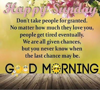 Good Morning Happy Sunday With Quotes