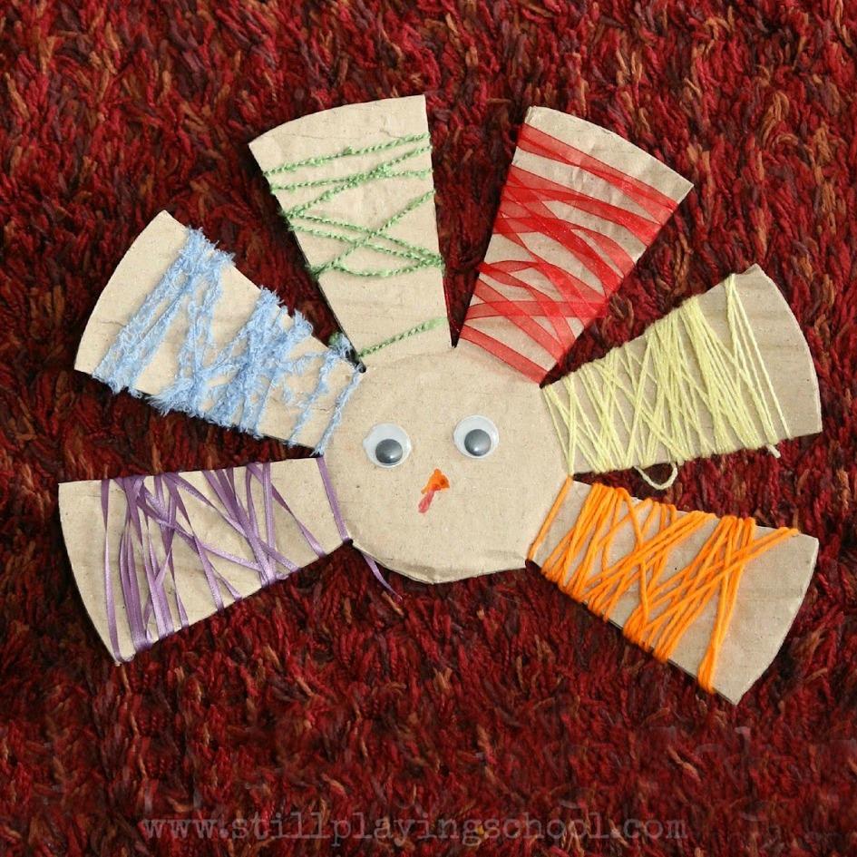Yarn Wrapped Turkey