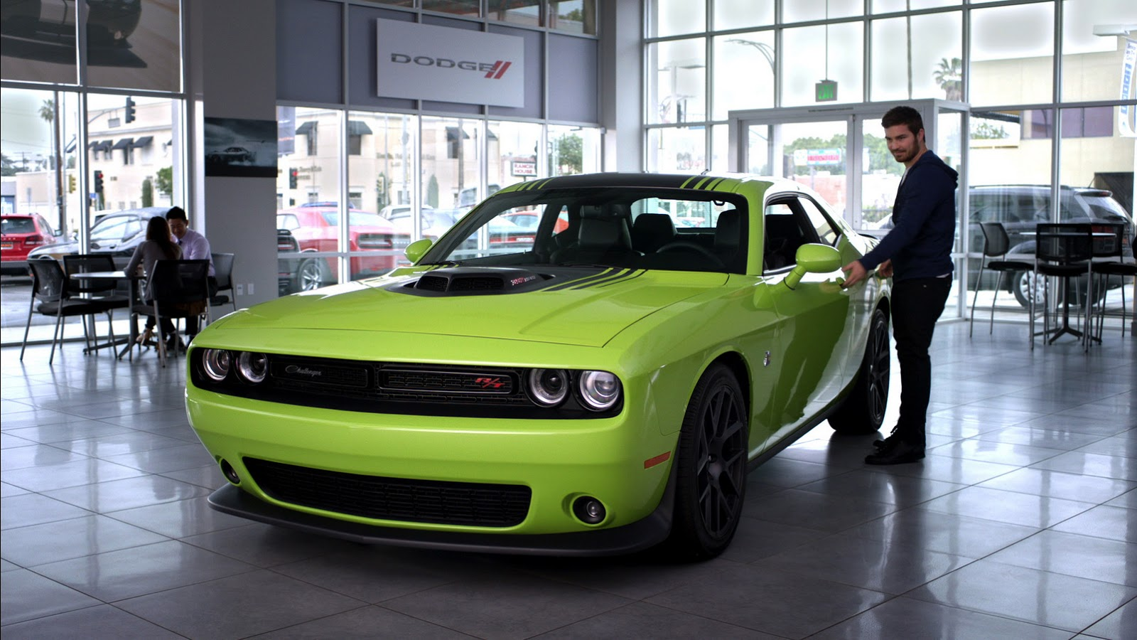 """Armored Car For Sale >> """"Flash To The Future 7"""" is Dodge's Furious 7 TV Spot ..."""