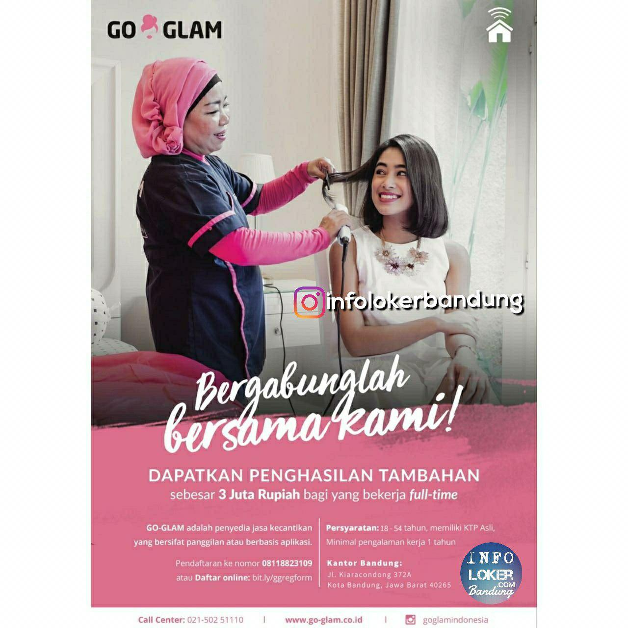 Lowongan Kerja Talent Go Glam Bandung September 2018